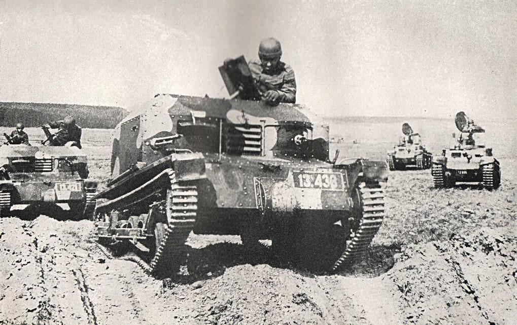 Les chenillettes vz.33 ne peuvent pas rivaliser avec un char de combat
