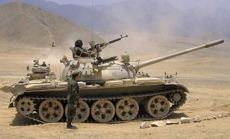 """Complétement dépassé dans les montagnes afghane, les T-55 ne pourront assurer leur rôle de """"chien de berger"""" pour les convois"""