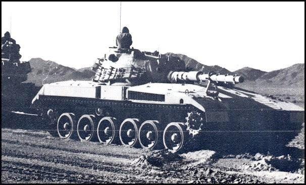 Le 3e démonstrateur avec la tourelle de M60, présente beaucoup de similitude avec la version finale