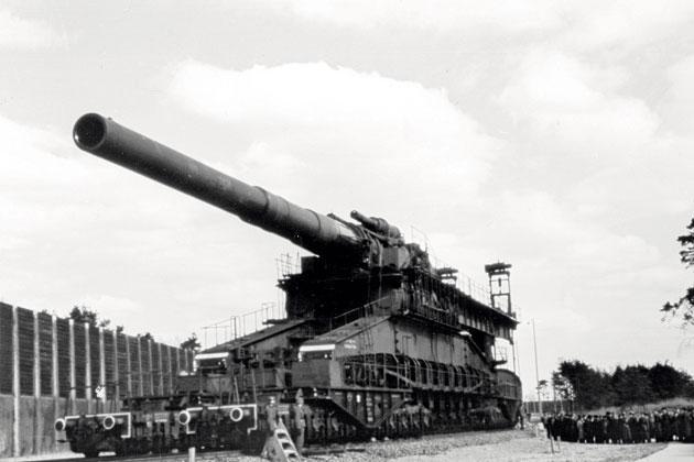 Dora, la plus grosse bouche à feu de l'Histoire, créée pour détruire les forteresses françaises et russes