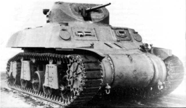 Le T-7 est l'un des candidat pour remplacer les vieillissants M3 et M5 Stuart