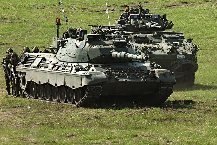 Le Léopard s'intègre parfaitement dans la reconstruction de la Bundeswehr