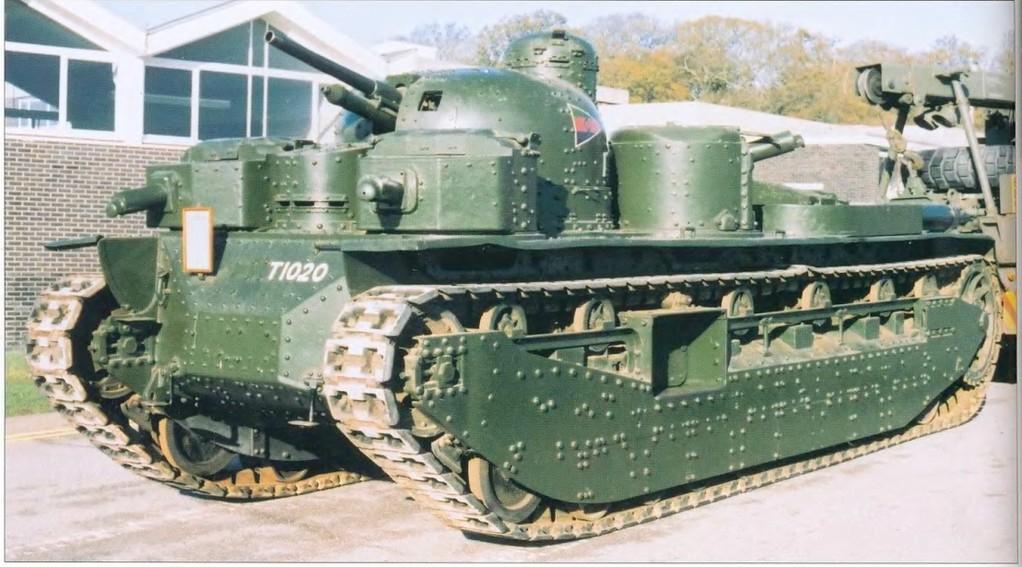 Le char britannique A1E1, inspiration du projet américain T1