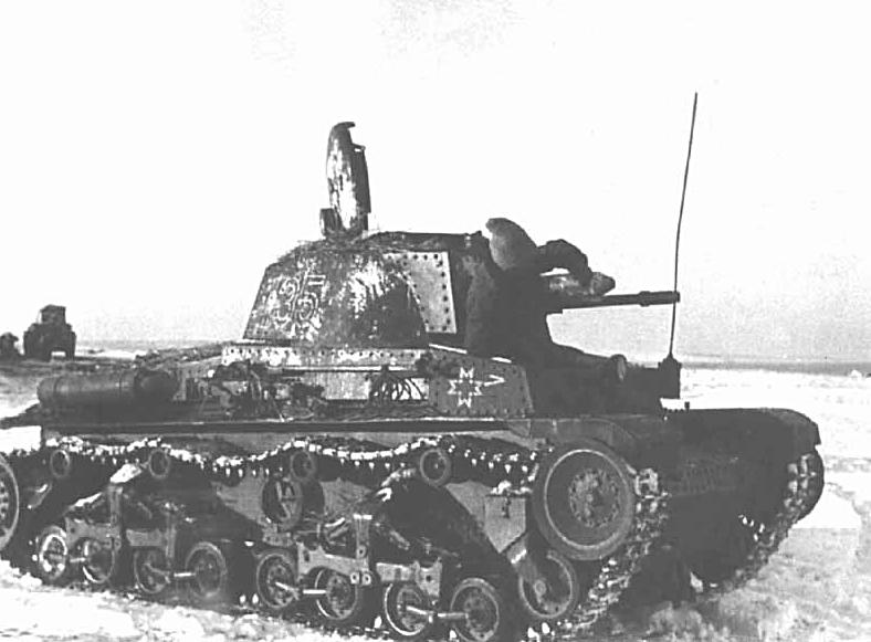 Les Panzers 35 (t) serviront sur la plupart des fronts et dans beaucoup d'unités satellites de l'Allemagne, comme ici un char roumain en URSS