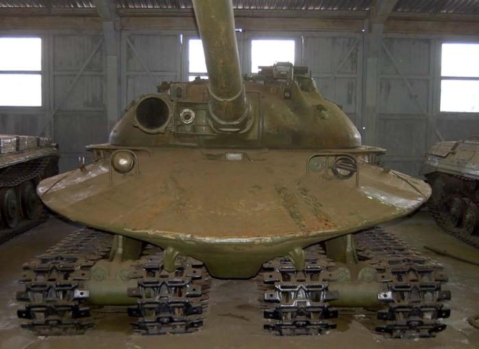 L'Objekt 279 a, plus que tout autre char russe, une allure d'OVNI