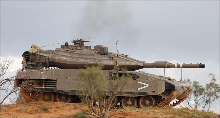 Tous les chars modernes ont adoptés ce système, à l'image de ce Merkava 4 israélien