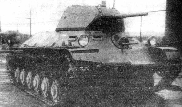 Le programme T-126SP donne naissance à un démonstrateur aux lignes très modernes qui préfigurent les T-34