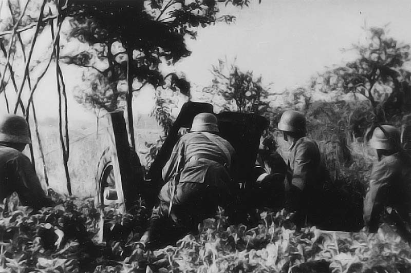 Les moyens antichars allemands sont trop légers pour affronter les chars d'infanterie britannique, ce qui causera quelques sueurs aux autorités allemandes