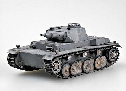 Aucune photo n'existe du VK 30.01 (H) entier. Voici une maquette représentant le char en ordre de combat