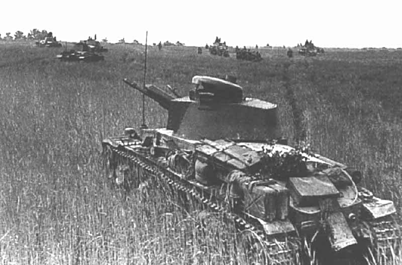 Panzer 35 (t) à l'assaut de Moscou