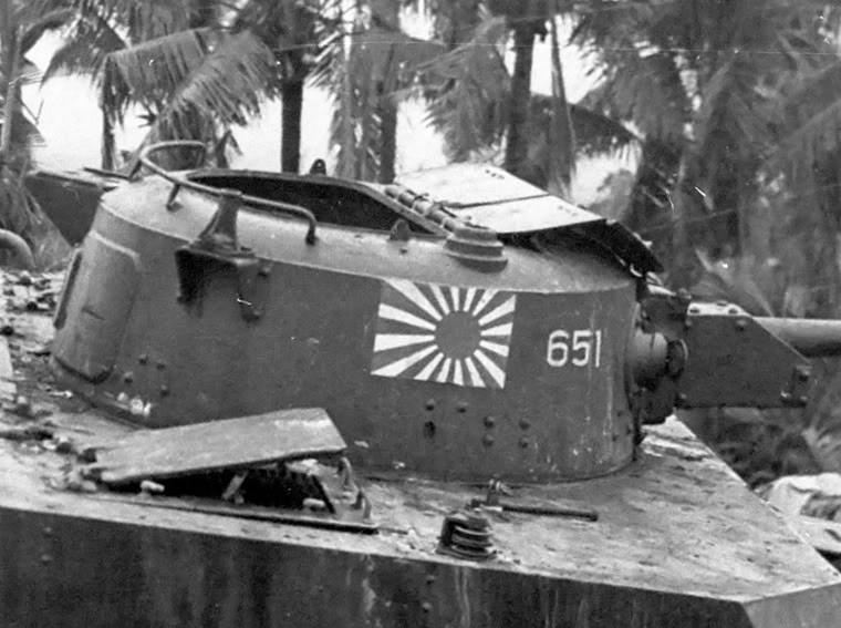 L'armement est suffisament puissant pour le combat en jungle et le rend dangereux pour les tankistes américains