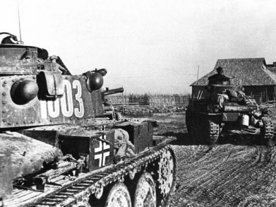 Les Panzer 38 (t) ont marqué leurs empreintes sur le front de l'Est