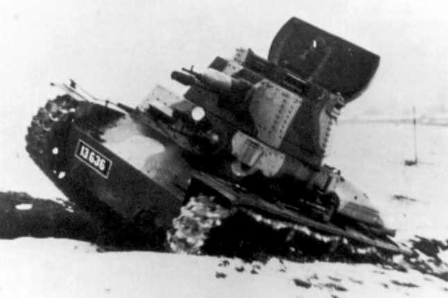 Seul cliché de l'unique prototype P-II-b construit par CKD, ici en test de validation