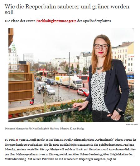 Marlena Sdrenka - Nachhaltigkeitsmanagerin