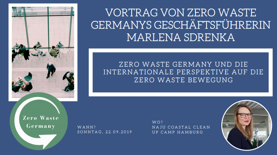 Zero Waste Germany Vortrag - NAJU Coastal Clean Up Camp - Marlena Sdrenka