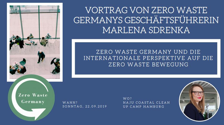 Zero Waste Germany Vortrag - NAJU Coastal Clean Up Camp - Marlena Sdrenka