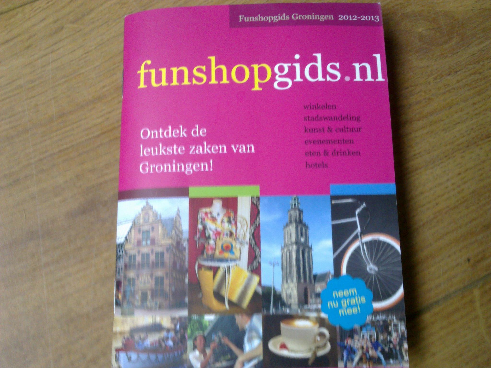 Produktfotografie Funshopgids 2012 2013 2014