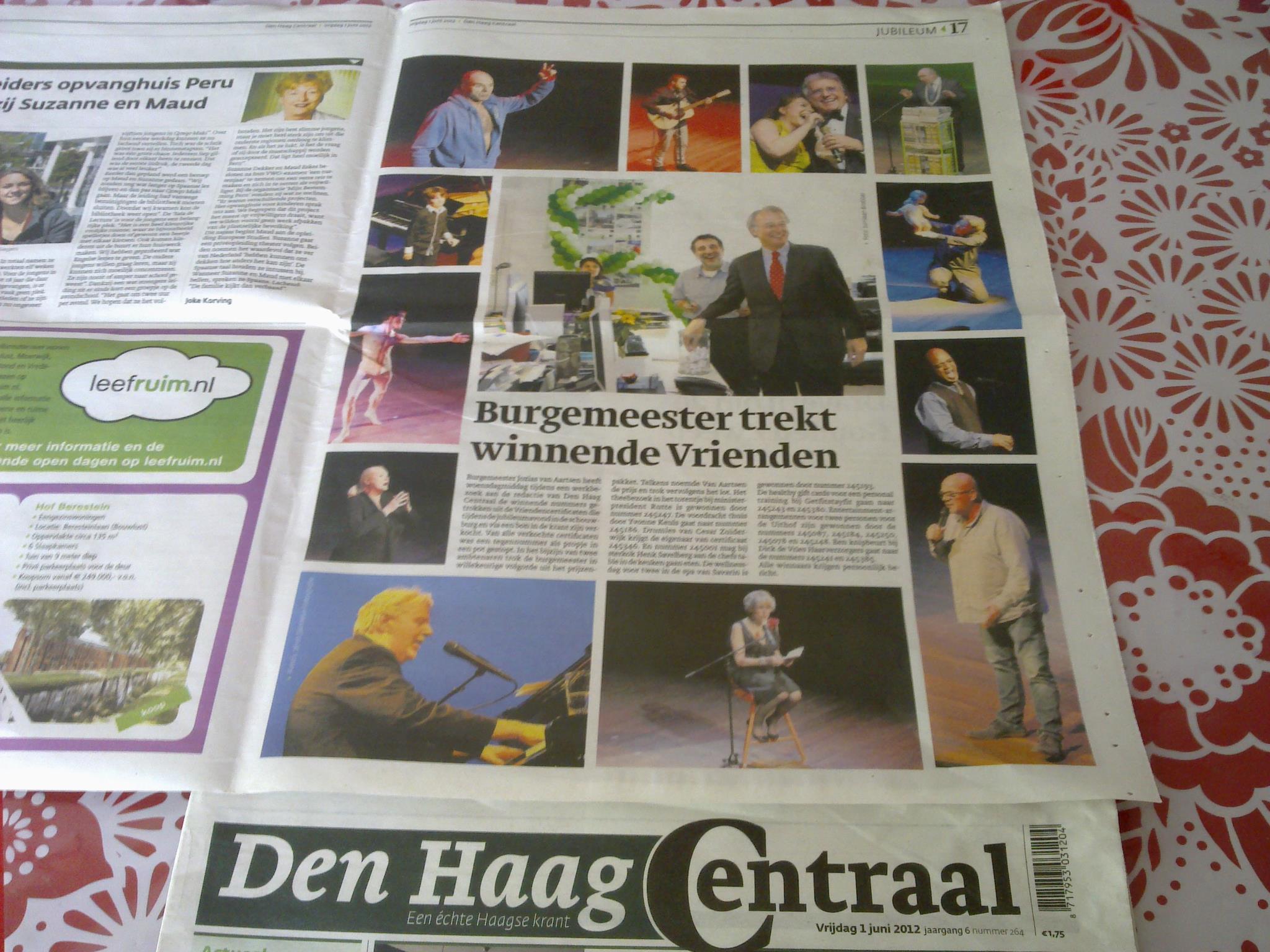 DHC plaatst foto's 2012
