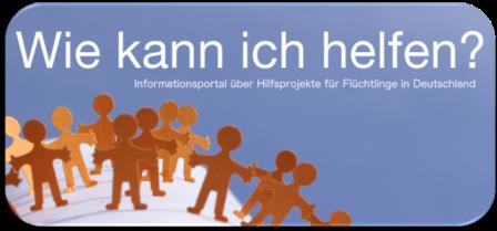 Informationsportal über Hilfsprojekte für Flüchtlinge in Deutschland