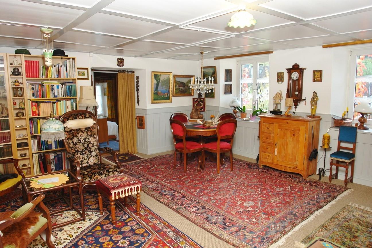 Wohnstube im Obergeschoss