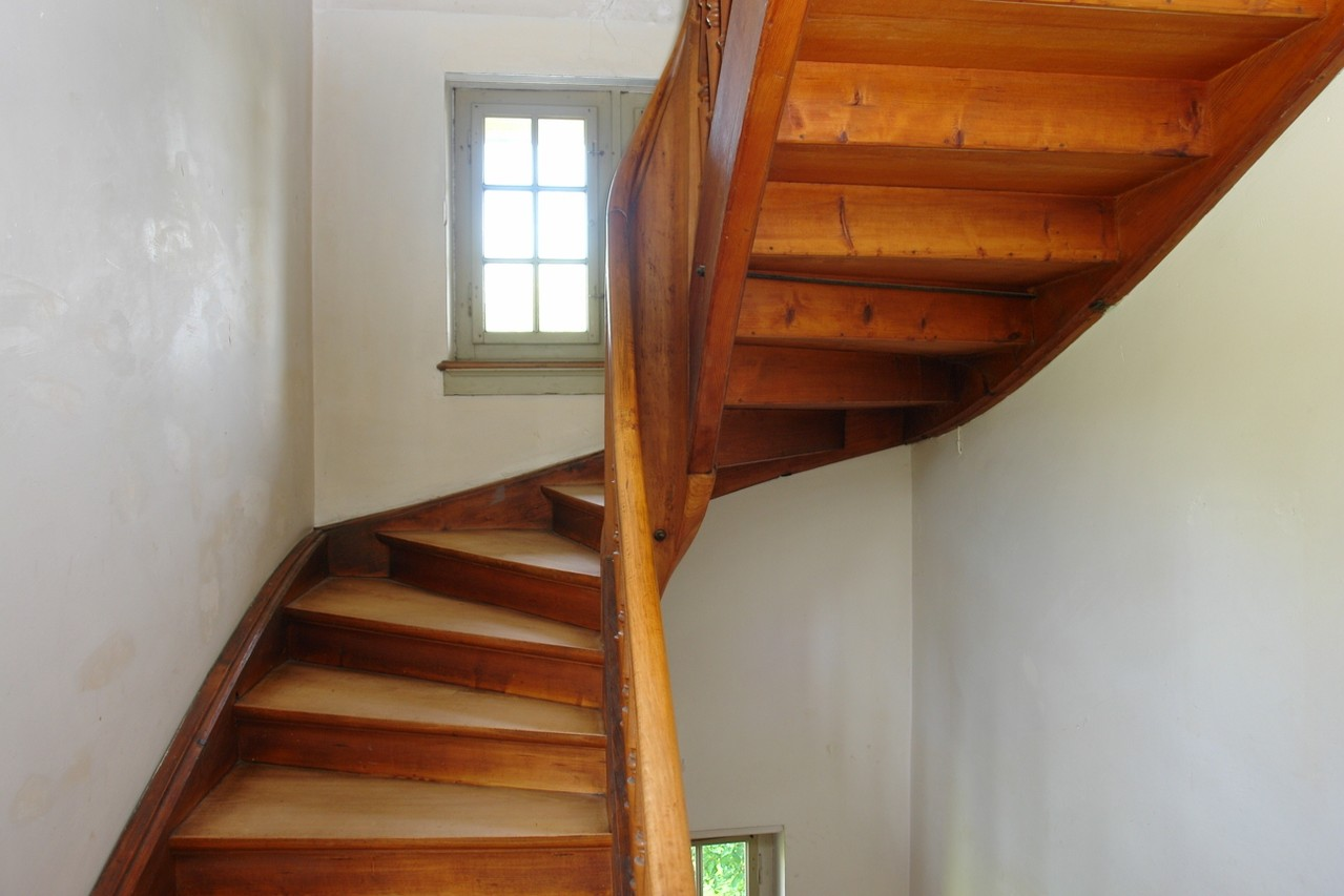 Charakterstarkt: Treppenhaus