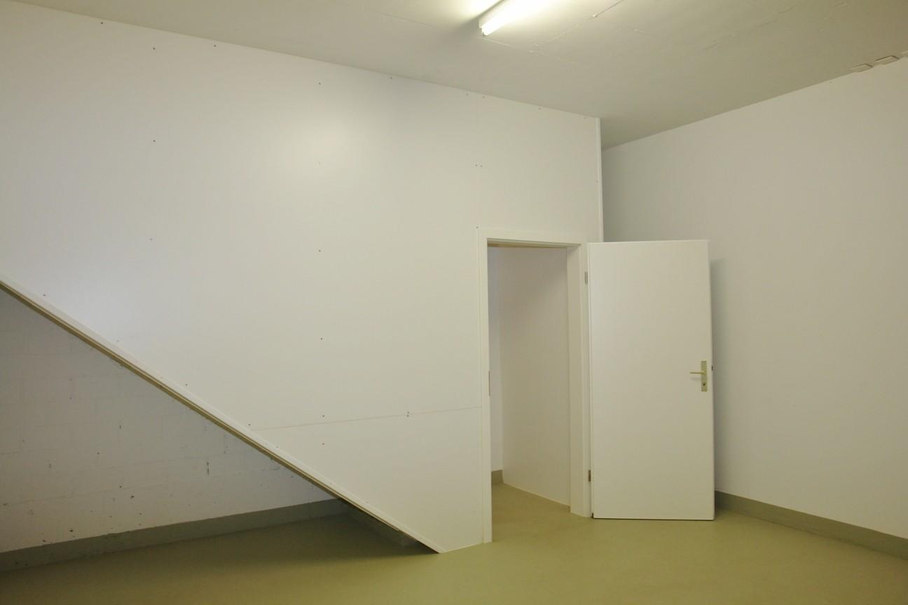 Die Wohnung ist von der Tiefgarage aus direkt via Hobbyraum und interne Aufgangstreppe erschlossen.