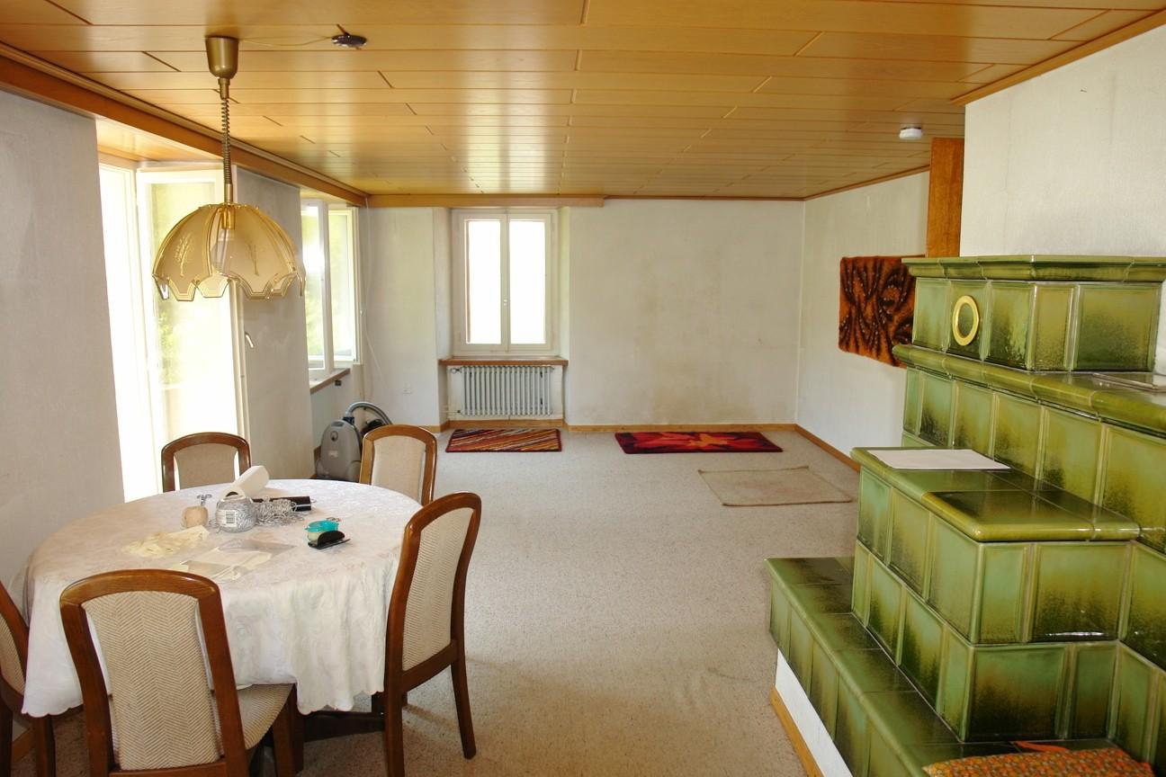 Im grossen Wohn-/Essbereich im Erdgeschoss