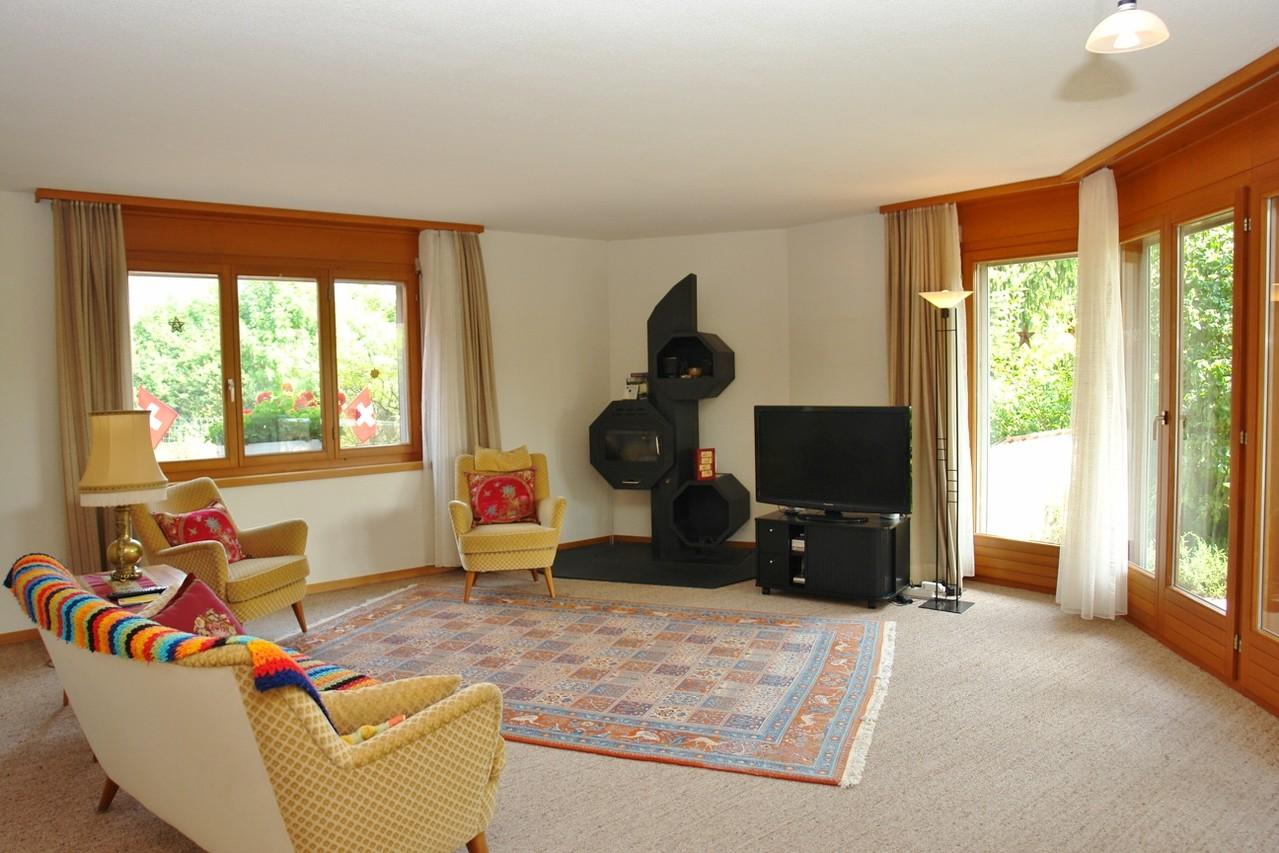 Das zweite Wohnzimmer (fast 40 m2 gross!)