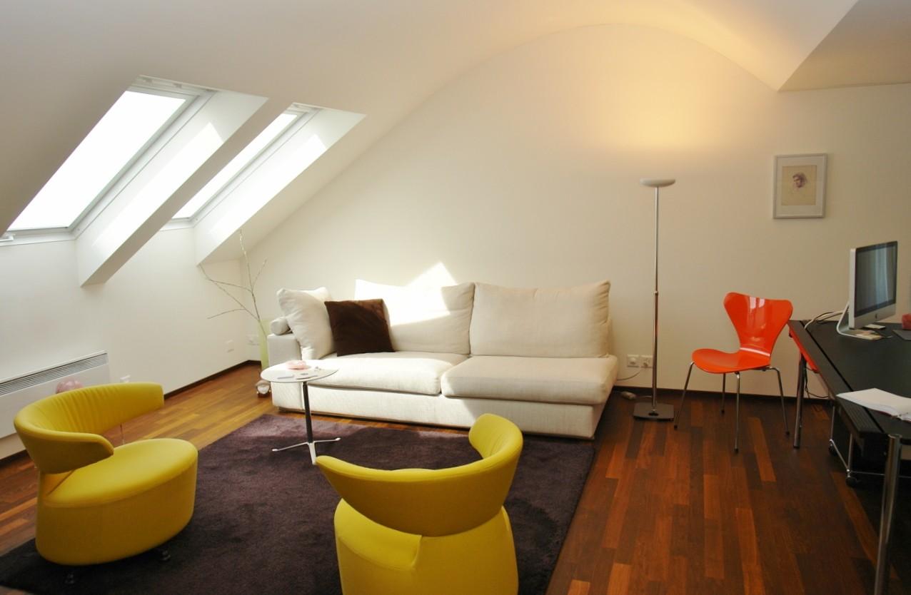 Stilvoll auch hier: Studio/2.5-Zimmer-Einliegerwohnung