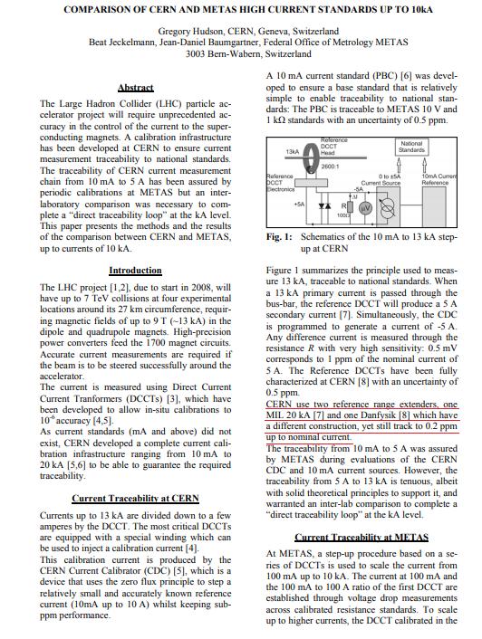 DCCT校正が必要か?2(CERN)