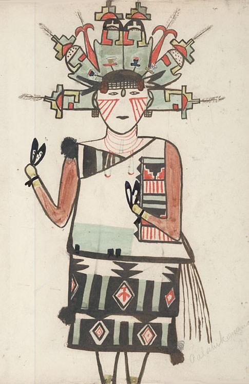パラヒコマナ(Kachina英語wiki/Wikimedia Commonsより)