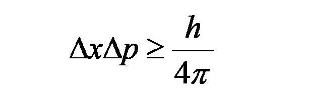 不確定性原理式