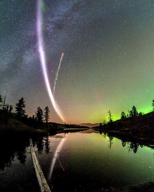 君の名は。の彗星イメージ