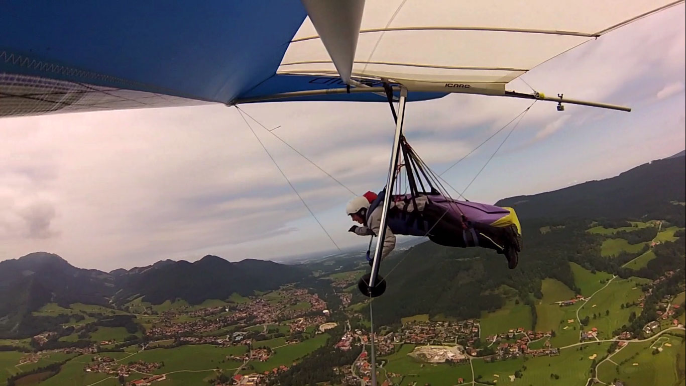 Fliegen macht glücklich :)