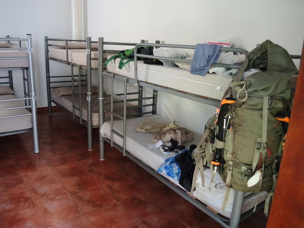 Standard Municipal-Herberge in Galicien