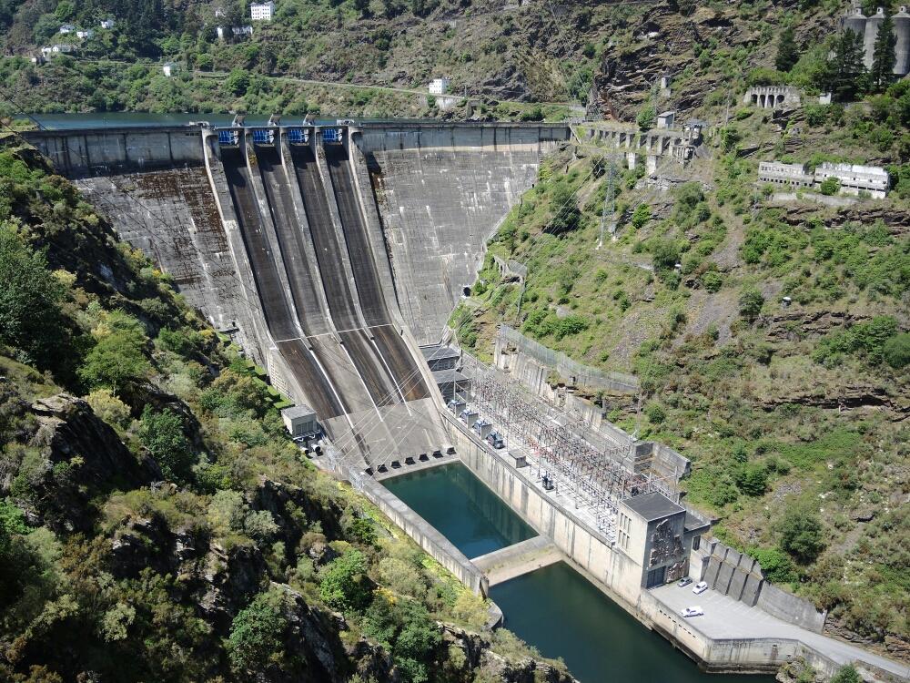 Staudamm Grandas de Salime