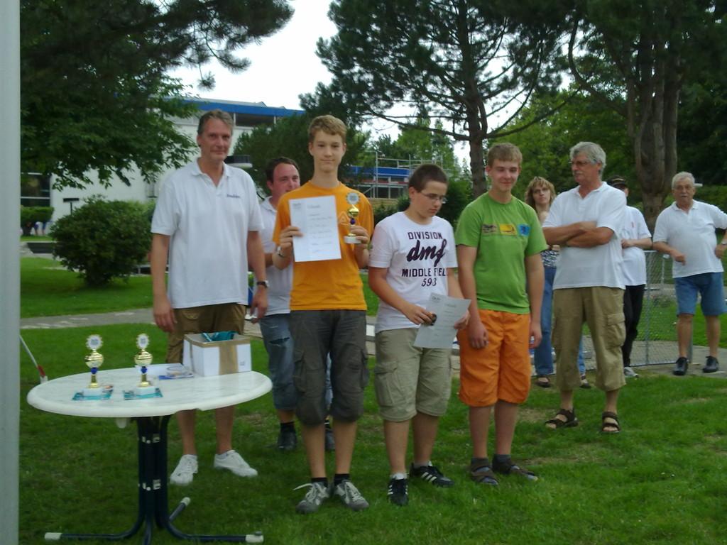 Jugend männl.. Fabian Junge 1. , Dominik Bley 2. , Markus Heyber 3.
