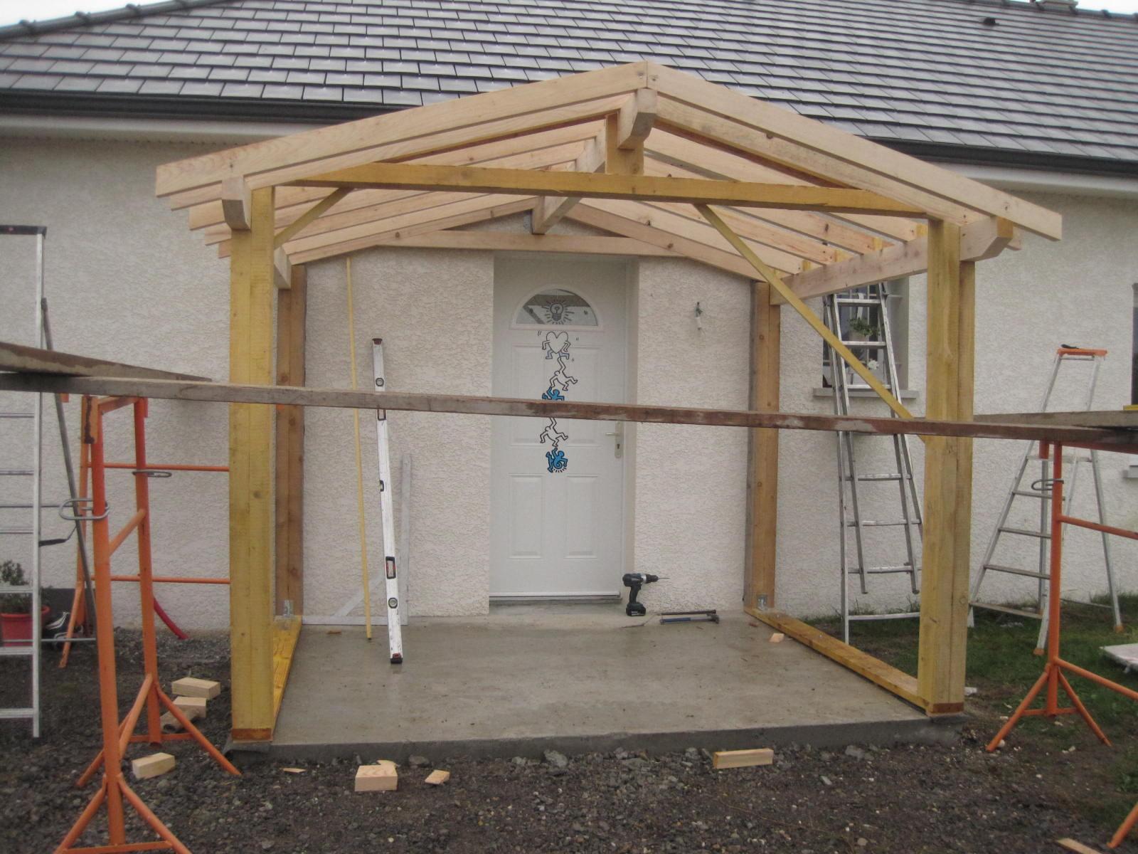 Construire Un Porche D Entrée construire un sas d entrée | idées décoration - idées décoration