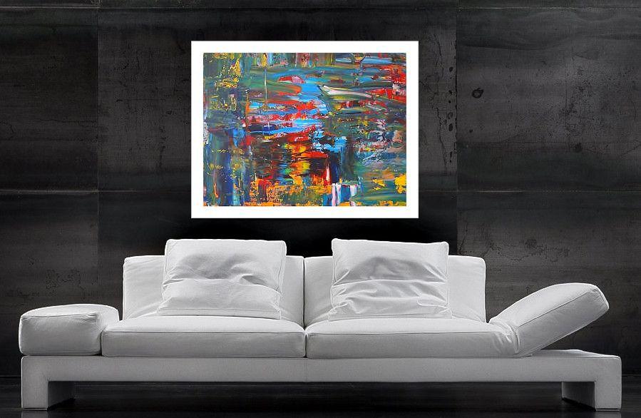 schöne Farbverläufe - Acrylbilder kaufen