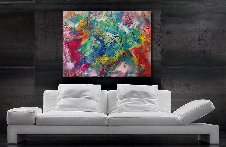 Wandbild XXL - Burk Art Gemälde