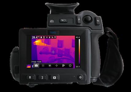 FLIR T660: professionelle Infrarotkamera für Elektrothermografie, Industriethermografie und anspruchsvolle Infrarotbilder