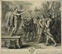 Aparición del crismón a Constantino