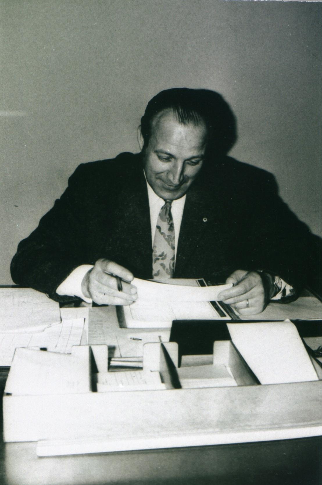 Betriebsführer Produktion Werner Mittelbach