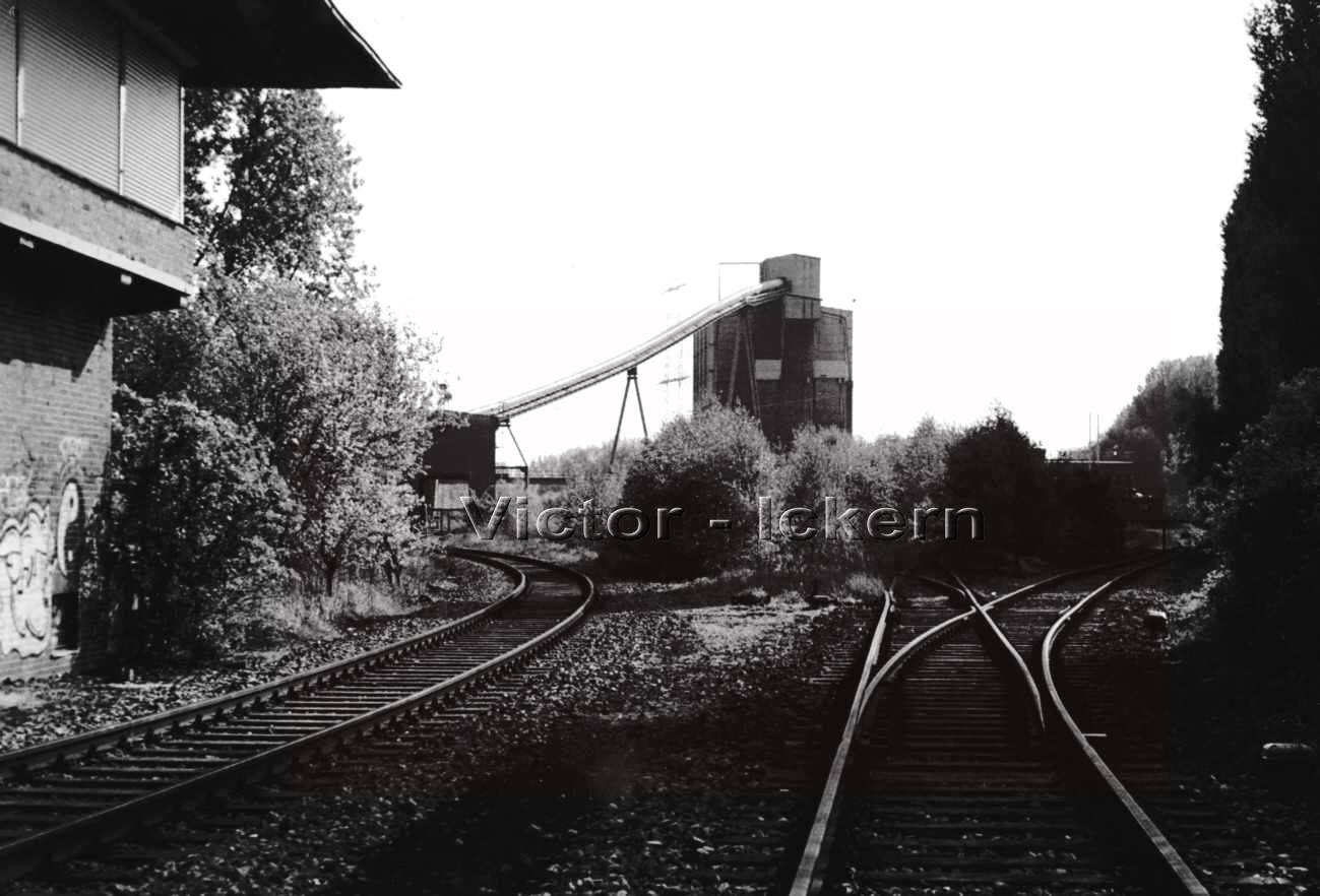 Kokskohlenbunker für das Kraftwerk Rauxel   1999