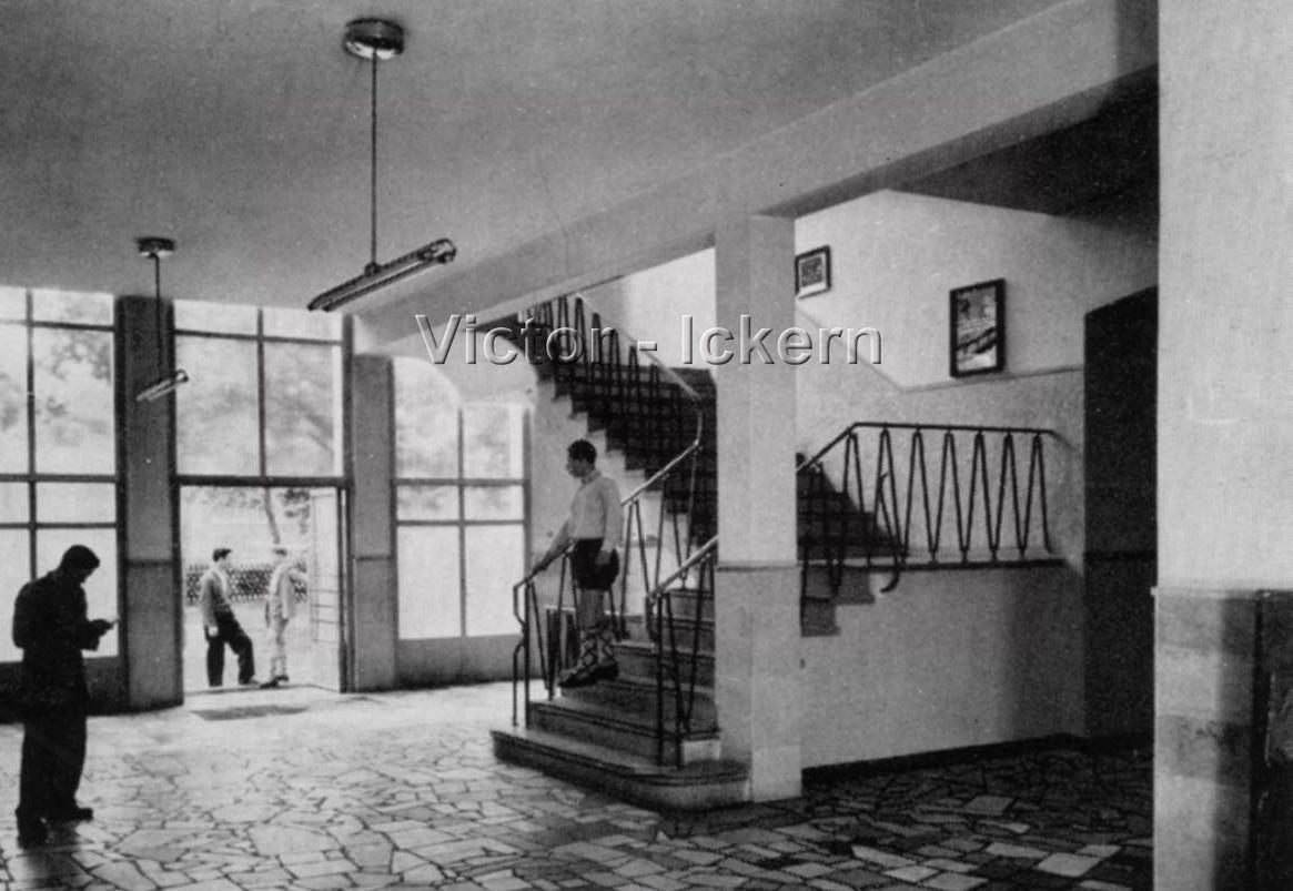Eingang zur Bergberufsschule Victor III/IV