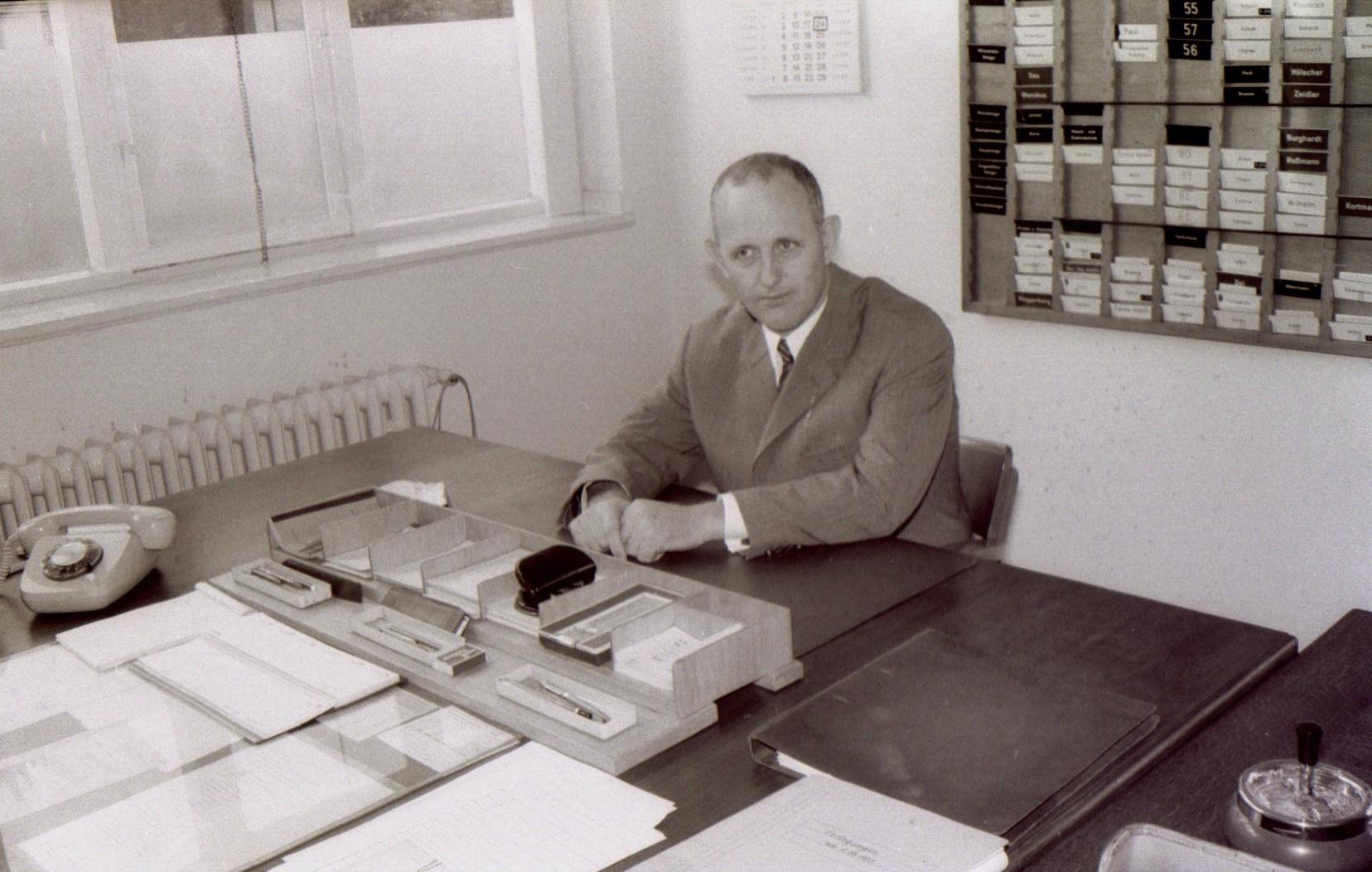 Betriebsdirektor Produktion Assessor Thomas Lenz