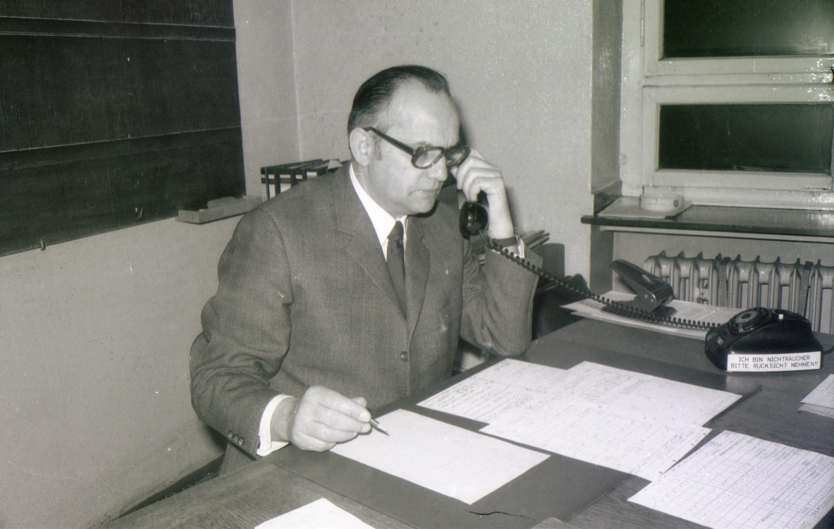 Obersteiger Aus-und Vorrichtung Ickern, Wilhelm Baumeister