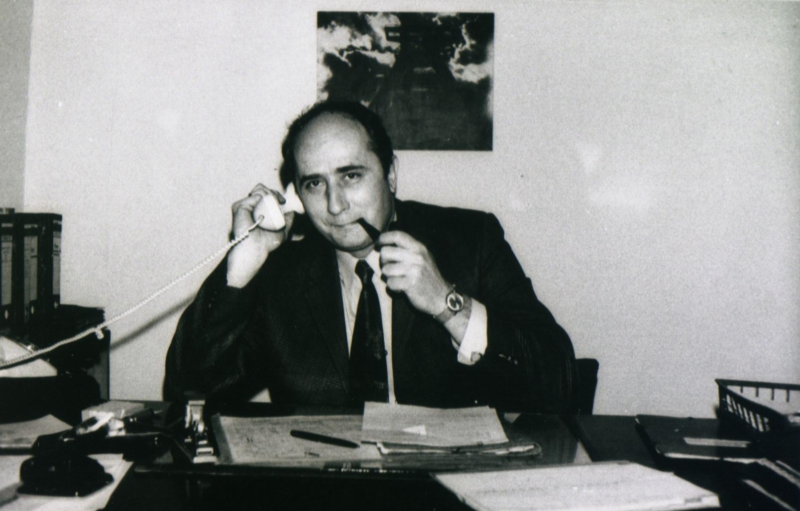 Stabstellenleiter Horst Eichler