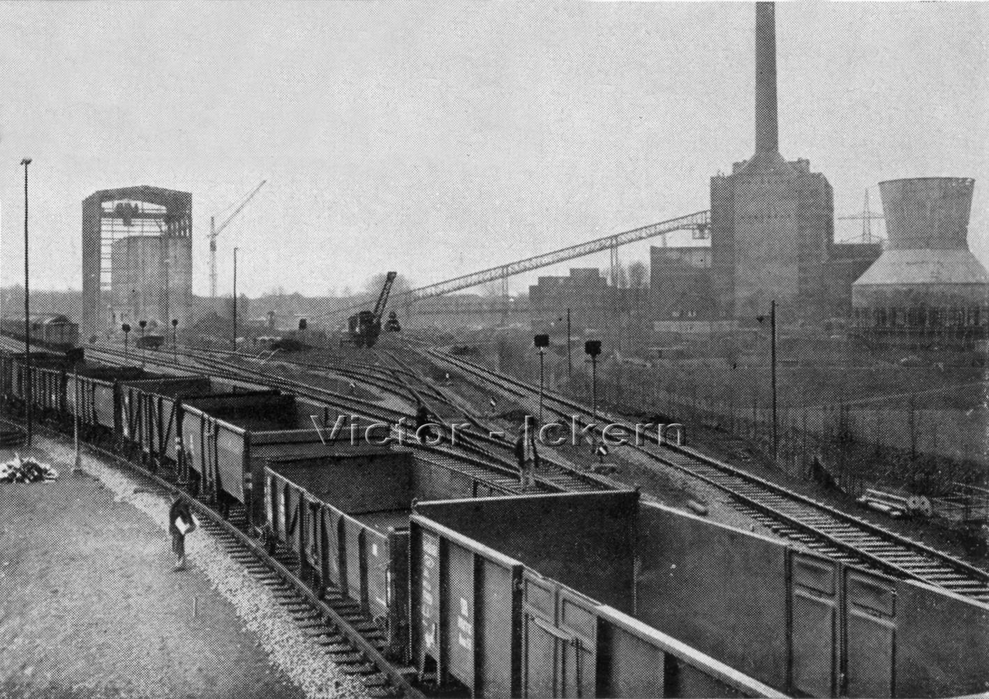 Betriebsbahnhof Rauxel Ost   1958