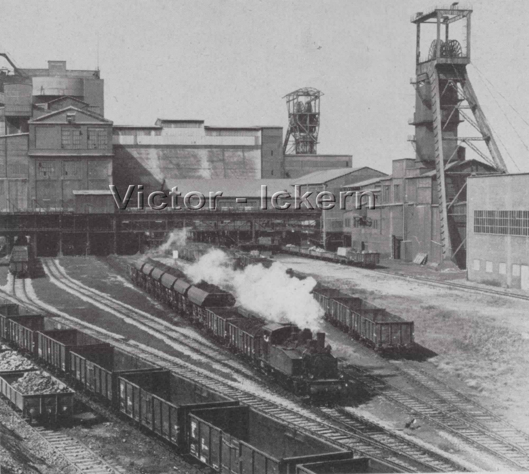 Verladebahnhof Ickern I/II   1950